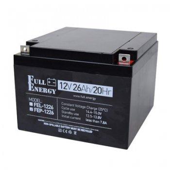 Аккумулятор 26Ah/12В «FEP-1226»