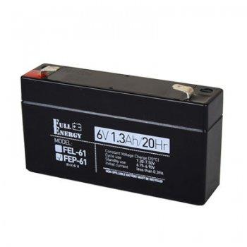 Аккумулятор 1,3Ah/6В «FEP-61»