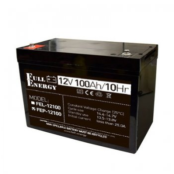 Аккумулятор 100Ah/12В «FEP-12100»